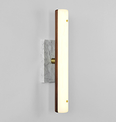 Sconce - walnut - web