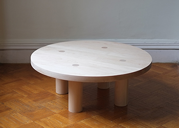 Maple Column Coffee Table - cover photo