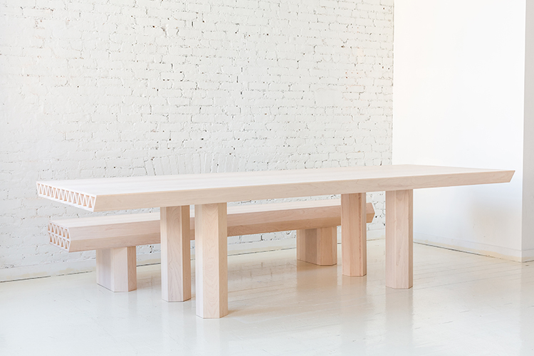 Fort standard for Soapstone dining table
